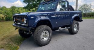 Restomod 1968 Ford Bronco 33 Zoll Tuning 1 310x165 1976 Ford Bronco Restomod im schicken Ruby Red!