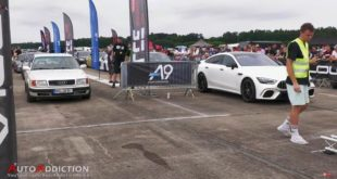 Sleeper Audi 100 quattro Drag race 310x165 Video: Akrapovic Titan Sportauspuffanlage am BMW M8!