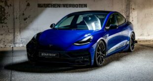 Tesla Model 3 Tuning Startech Bodykit Interior Rims 11 310x165 Official: Tesla Model 3 from the tuner Startech with Bodykit!