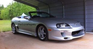 Toyota Supra MK4 Roadster from America 4 310x165 Engine exchange: Tesla E drive in a Toyota Supra (JZA80)