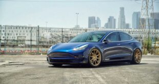 Unplugged Tesla Model 3 ADV.1 Wheels Tuning 7 310x165 Dezent   Unplugged Tesla Model 3 auf ADV.1 Wheels!