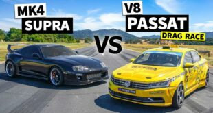 VW Passat with LS7 V8 vs. 1.000 HP Toyota Supra 310x165 Video: VW Passat with LS7 V8 vs. 1.000 HP Toyota Supra