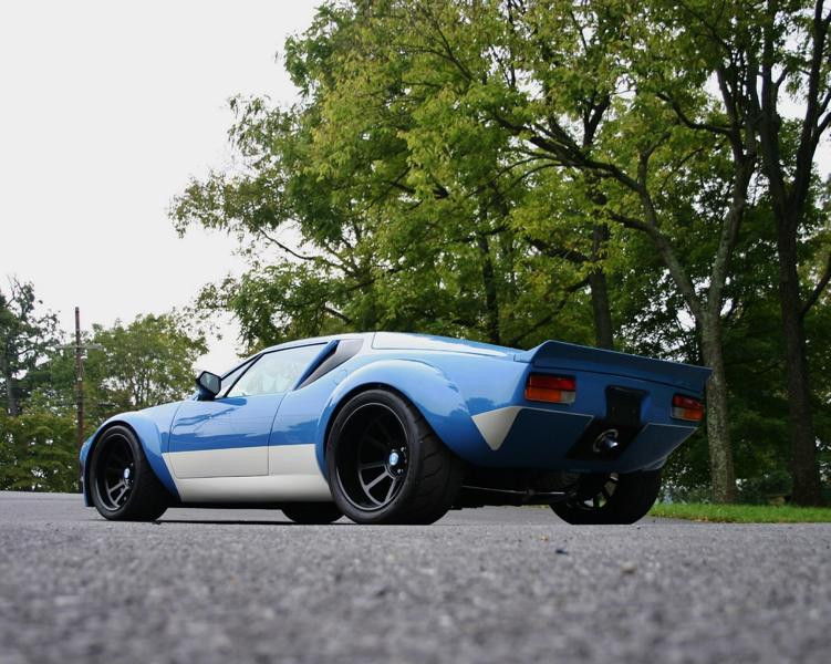 White Post Restorations 1971 DeTomaso Pantera V8 Rrestomod Tuning 4 White Post Restorations 1971 De Tomaso Pantera mit V8!