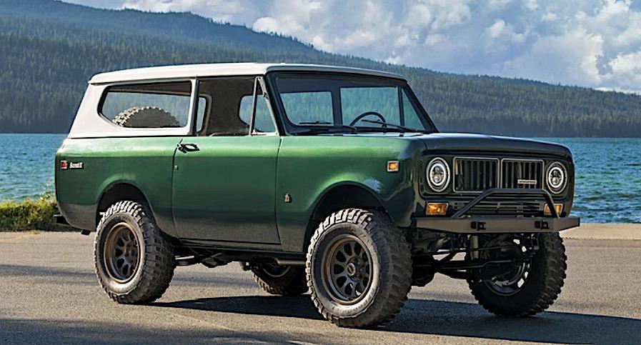 bulletproof 1973 International Scout II GM V8 Restomod Tuning 1 Restaurierter 1973er International Scout II mit GM V8!