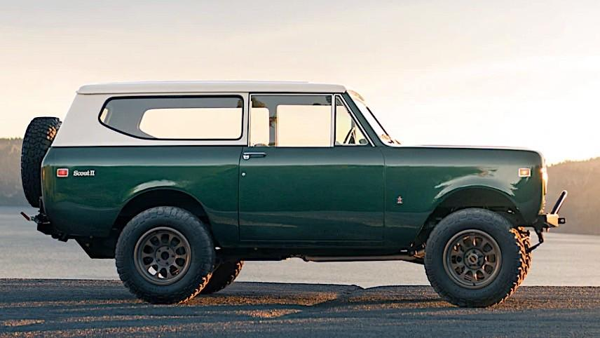 bulletproof 1973 International Scout II GM V8 Restomod Tuning 8 Restaurierter 1973er International Scout II mit GM V8!