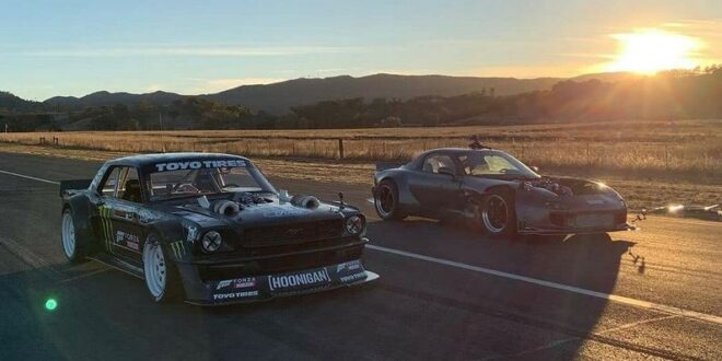 Soon: Duel of the giants - 1.400 PS Mustang vs. 1.200 hp RX-7!