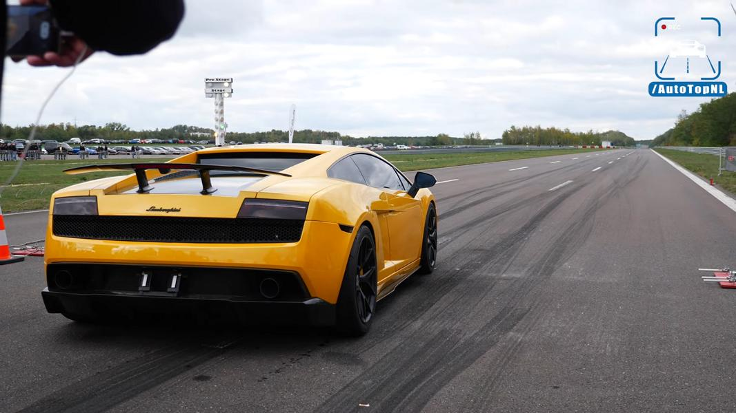 1750HP Lamborghini Gallardo TWIN TURBO Video: Lamborghini Gallardo mit 1.750 PS auf dem Track!
