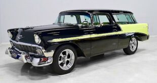 1956er Chevrolet Nomad Restomod V8 Tuning Header 310x165 Video: 1956 Ford F 100 Pickup Restomod mit Coyote V8!