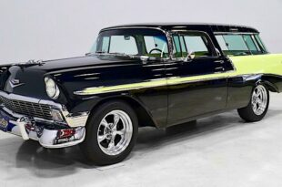 1956 Chevrolet Nomad Restomod V8 Tuning Header 310x205 1956 Chevrolet Nomad Restomod is for sale!