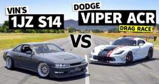 1JZ Power in the Nissan 240SX vs. Dodge Viper ACR 310x165 Video: 1JZ Power in the Nissan 240SX vs. Dodge Viper ACR!