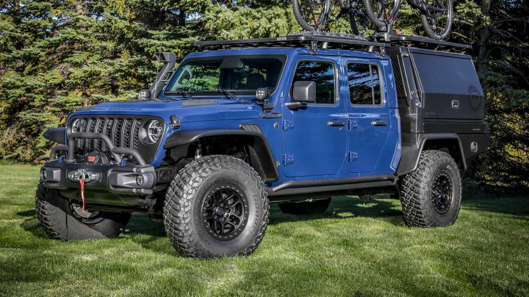 2020 Jeep Gladiator Top Dog Concept 25 Video: Jeep Gladiator Top Dog Concept   warum nicht?