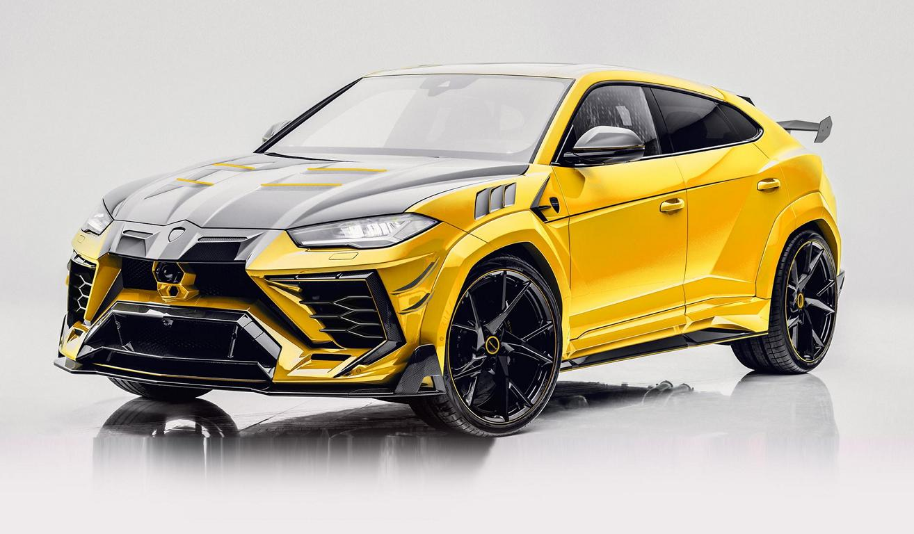 2021 Lamborghini Urus Venatus Evo Widebody By Mansory