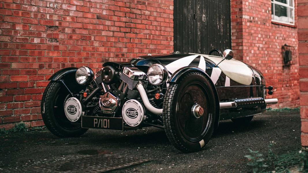 2021 Morgan Three Wheeler Edition P101 8 Sondermodell: 2021 Morgan Three Wheeler Edition P101!