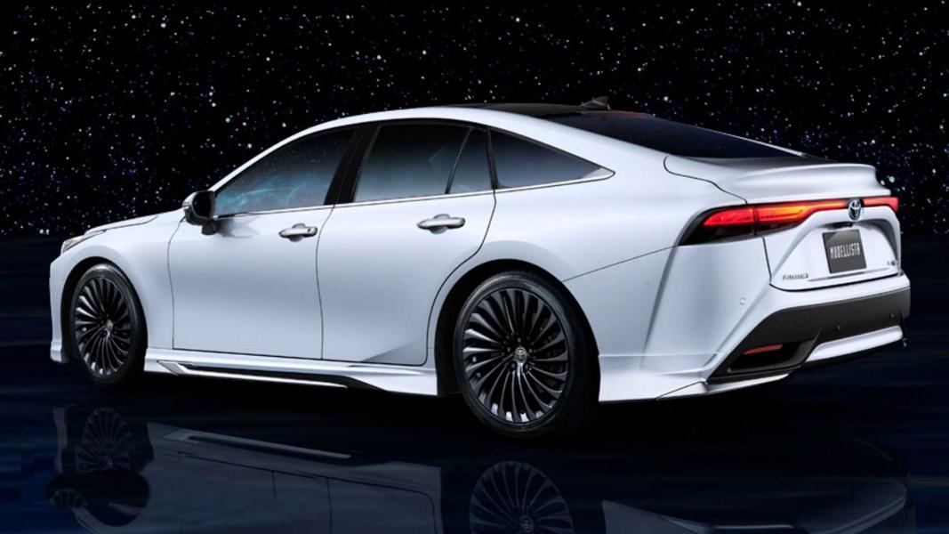 2021 toyota mirai modellista Bodykit Tuning 2 Toyota Mirai mit Modellista Parts   Tuning an der Zukunft?