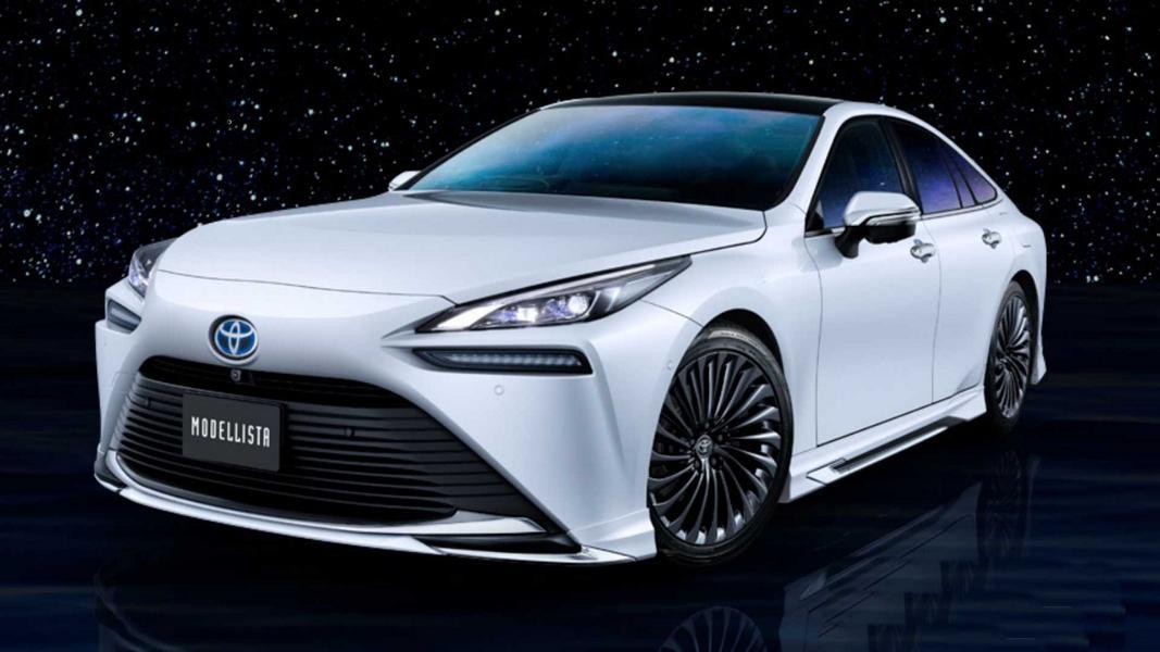 2021 toyota mirai modellista Bodykit Tuning 3 Toyota Mirai mit Modellista Parts   Tuning an der Zukunft?