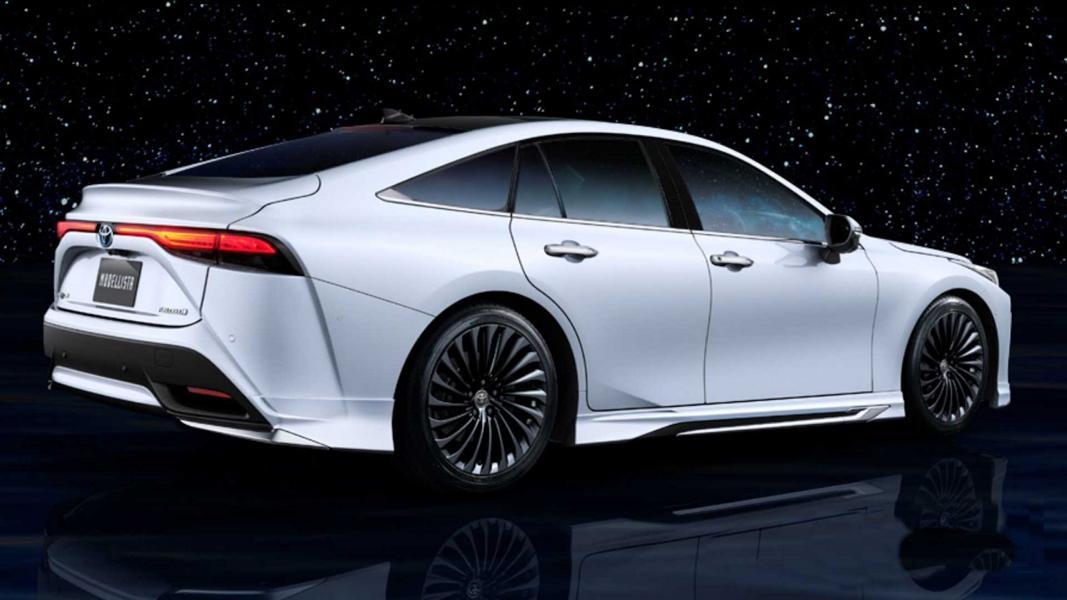 2021 toyota mirai modellista Bodykit Tuning 4 Toyota Mirai mit Modellista Parts   Tuning an der Zukunft?