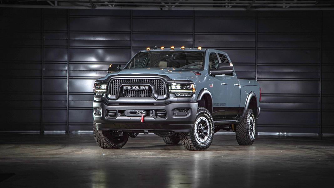 2021er Ram Power Wagon mit Offroad Optik 2 2021er Ram Power Wagon als 75th Anniversary Edition!
