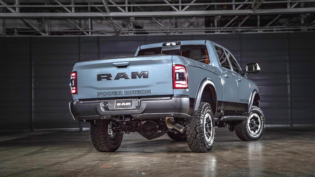 2021er Ram Power Wagon mit Offroad Optik 4 2021er Ram Power Wagon als 75th Anniversary Edition!