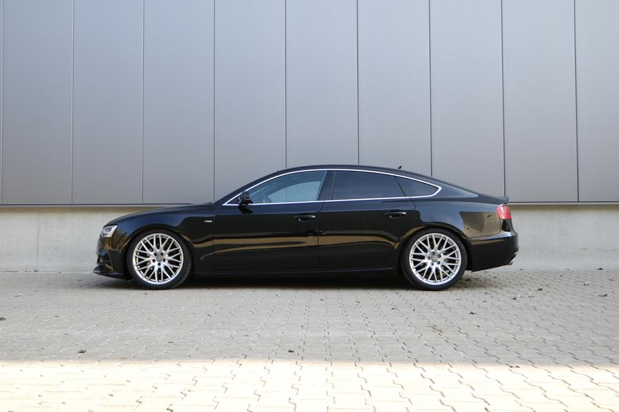 A5 Sportback B8 4WD without DCC Page HVF 3 Fine tuning with depth: H&R coil springs for Audi A5 / S5 / RS5