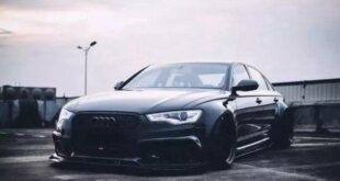 Audi A6L C7 mit Widebody Kit 3 310x165 Der schwarze Ritter   Audi A6L (C7) mit Widebody Kit!