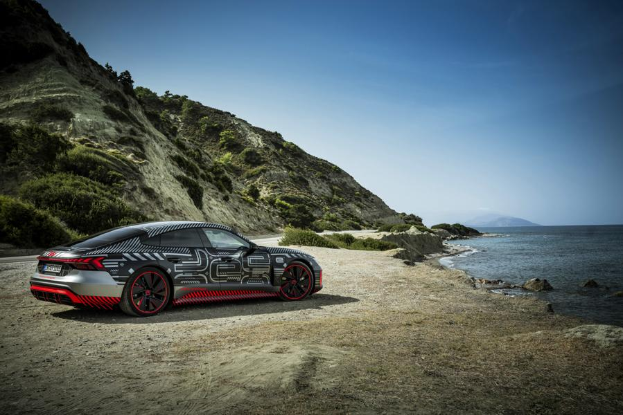 Audi RS e tron GT Prototyp 53 Audi RS e tron GT Prototyp beweist sich in ersten Tests!