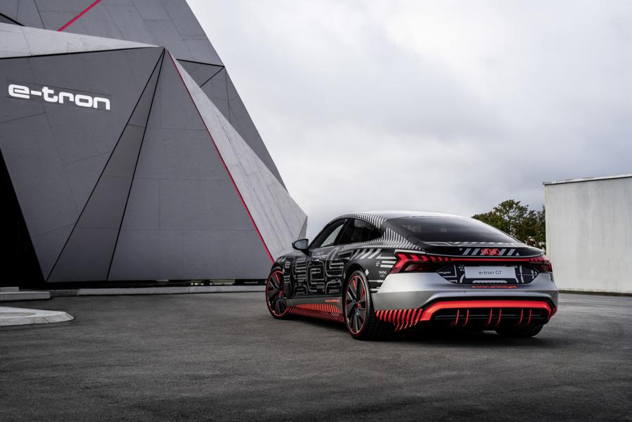 Audi RS e tron GT Prototyp 74 Audi RS e tron GT Prototyp beweist sich in ersten Tests!