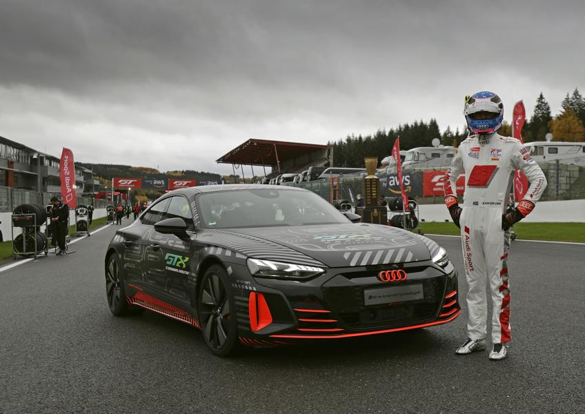 Audi RS e tron GT Prototyp 82 Audi RS e tron GT Prototyp beweist sich in ersten Tests!