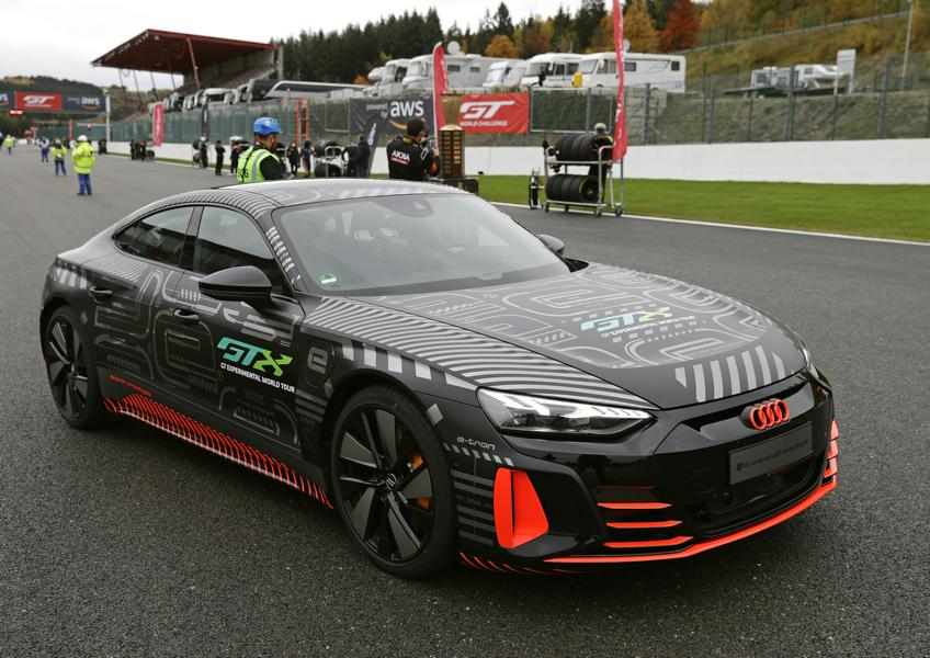 Audi RS e tron GT Prototyp 83 Audi RS e tron GT Prototyp beweist sich in ersten Tests!