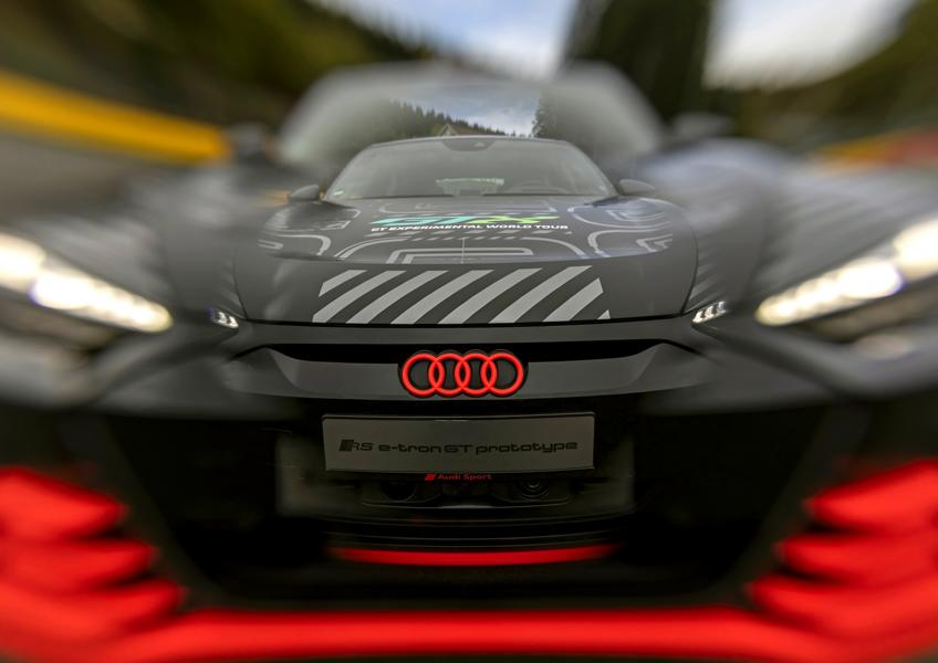 Audi RS e tron GT Prototyp 86 Audi RS e tron GT Prototyp beweist sich in ersten Tests!