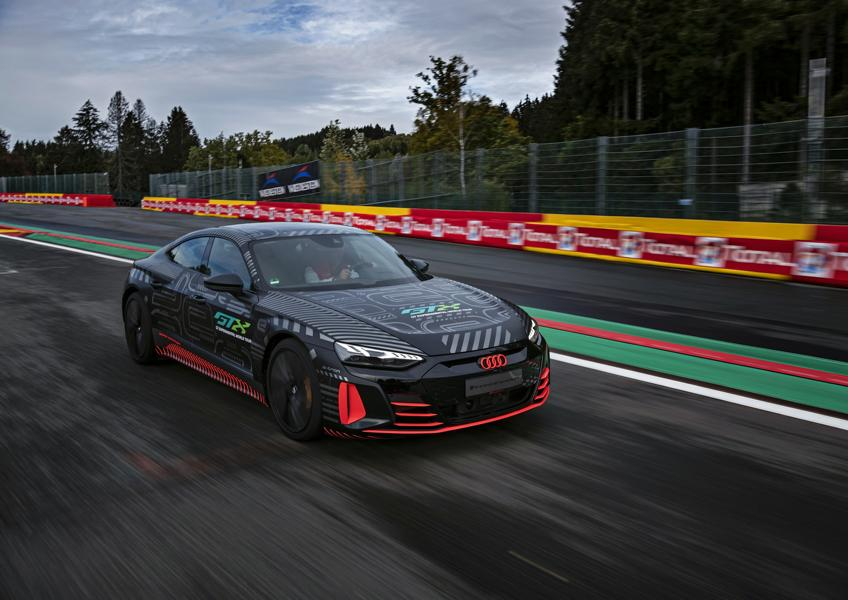 Audi RS e tron GT Prototyp 89 Audi RS e tron GT Prototyp beweist sich in ersten Tests!