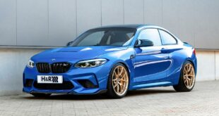 BMW M2 CS coil springs front 310x165 Best Driving Experience: H&R sport springs for the new VW Golf GTI