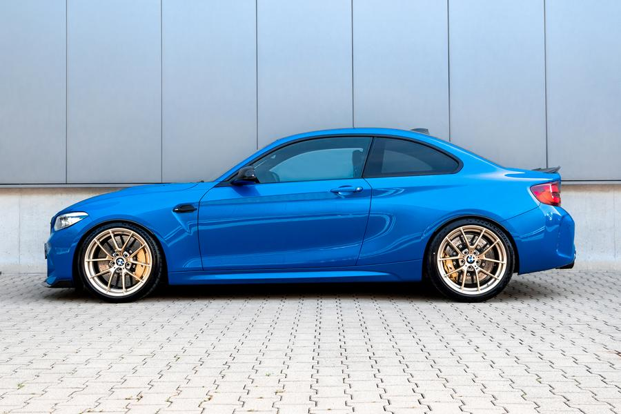 BMW M2 CS coil springs side The full range: H&R suspension components for the BMW M2 CS