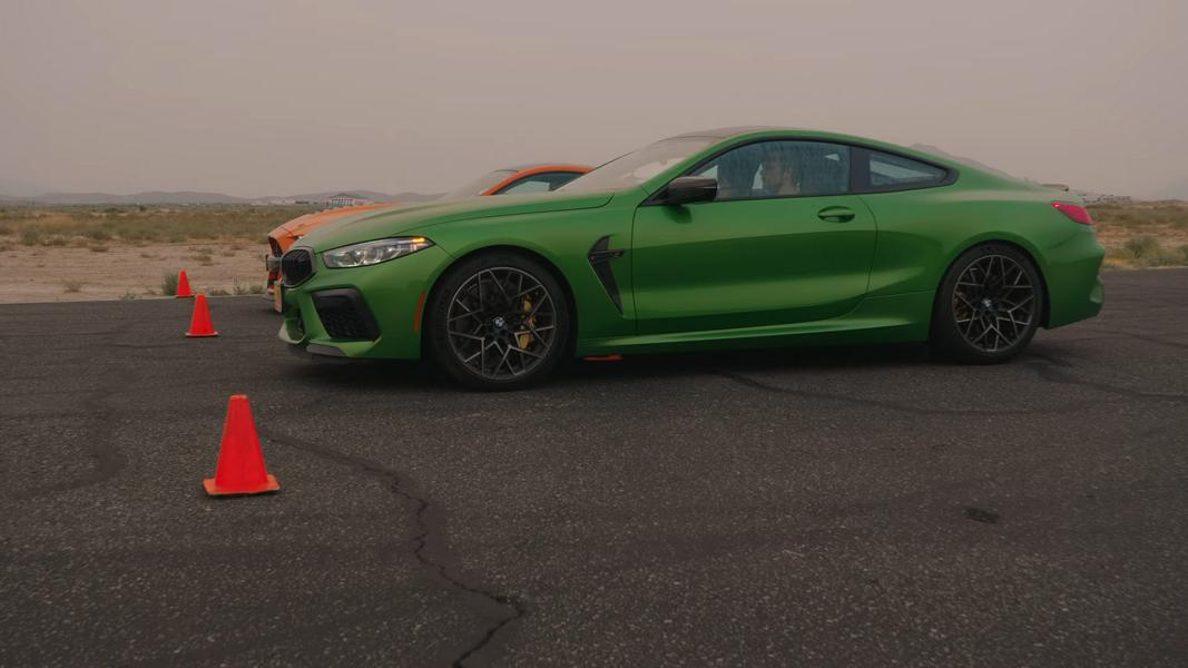 BMW M8 Competition vs. Shelby GT500 Mustang 2 Video: BMW M8 Competition vs. Shelby GT500 Mustang!