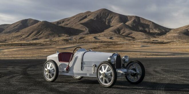 "Bugatti Bébé Hommage: Baby II der ""The Little Car Company""!"