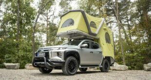 Camping Mitsubishi L200 Pickup Roof Tent GT 1 310x165 Camping with the Mitsubishi L200 thanks to the GT Pick Up Roof Tent!