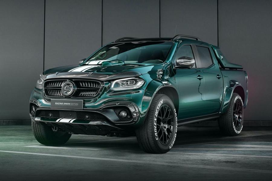 Carlex Mercedes X Class EXY Racing Green Edition 6 Carlex Mercedes X Class EXY as Racing Green Edition!