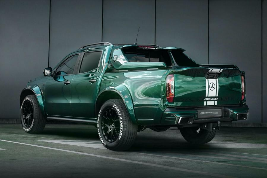 Carlex Mercedes X Class EXY Racing Green Edition 8 Carlex Mercedes X Class EXY as Racing Green Edition!