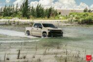 Chevrolet Silverado Trail Boss Vossen HF6 4 Tuning 13 190x127 Video: Chevrolet Silverado Trail Boss auf Vossen Alus!