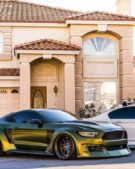 Dapper Grinch Clinched Widebody Ford Mustang GT Tuning 33 135x169 Dapper Grinch Clinched Widebody Ford Mustang GT!