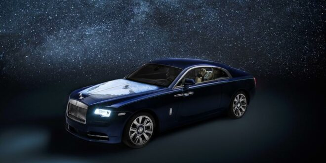 "Unique piece: Rolls-Royce Wraith Coupe ""Inspired by Earth""!"