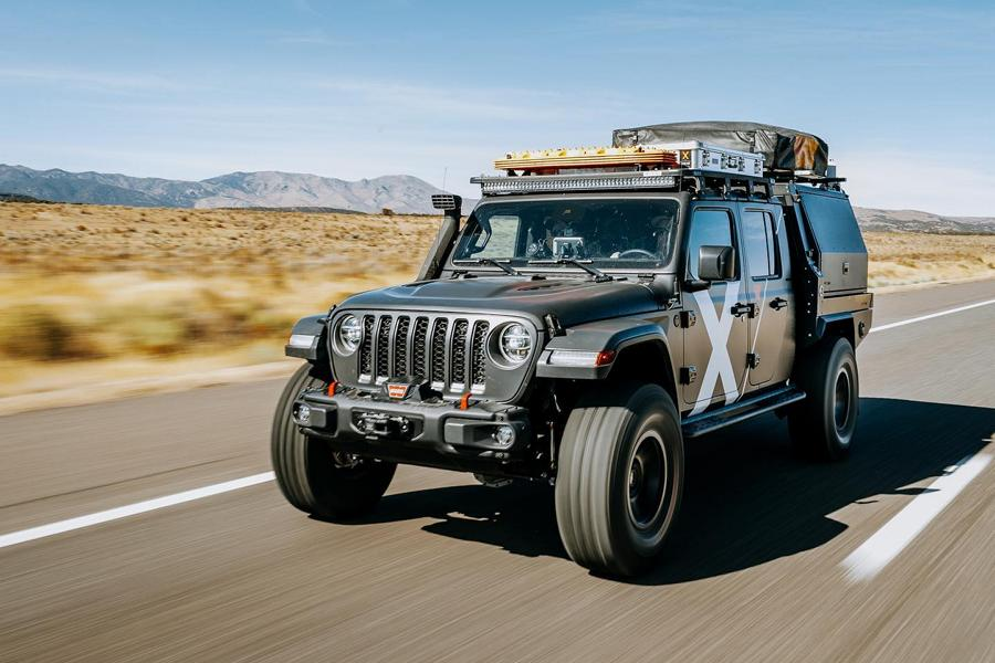 Expedition Overland Odin Jeep Rubicon Gladiator 10 Expedition Overland Odin auf Basis Jeep Rubicon Gladiator