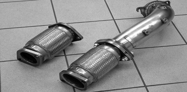 Flex piece flexible pipe tuning exhaust 2 The flex piece necessary or superfluous for tuning?