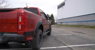 Ford Ranger with Roush sport exhaust 310x165 Video: Porsche 718 Cayman GT4 with Akrapovic exhaust!