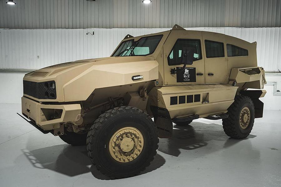 MAX 9 SVI ARMORED PERSONNEL CARRIER Tuning conversion 2 SVI MAX 3! Toyota Land Cruiser 79 with B6 or B7 armor!