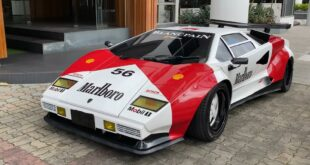 Marlboro Fake Lamborghini Countach Widebody V8 4 310x165 Video: Lamborghini Gallardo mit 1.750 PS auf dem Track!