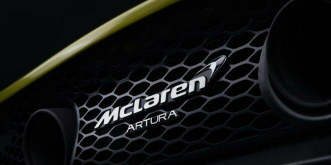 "McLaren's high-performance hybrid supercar ""Artura""!"