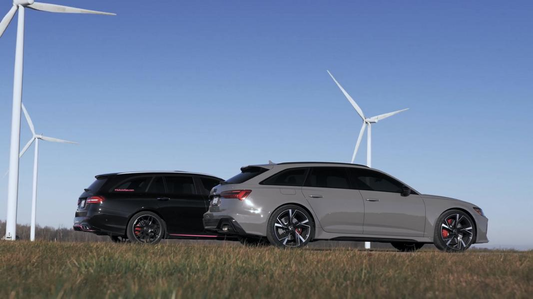 Mercedes AMG E63 vs. Audi RS6 Avant 2 Video: Mercedes AMG E63 vs. Audi RS6 Avant mit Tuning!