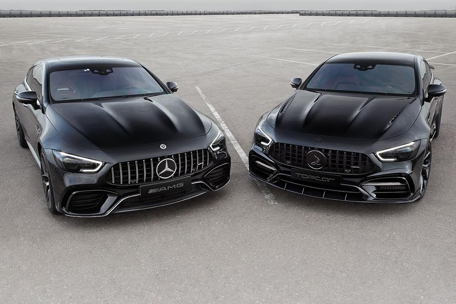 Mercedes AMG GT 4 Tuerer Coupe Inferno Topcar X 290 Tuning 2 Mercedes AMG GT 4 Türer Coupé Inferno von Topcar!