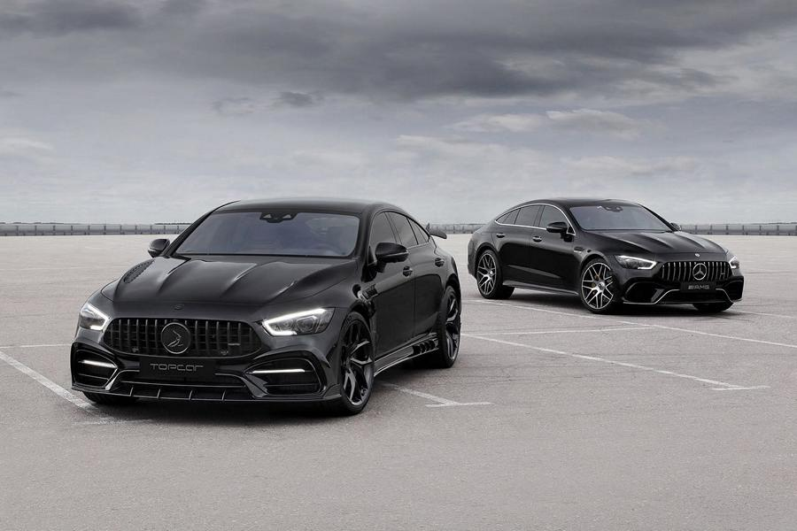 Mercedes AMG GT 4 Tuerer Coupe Inferno Topcar X 290 Tuning 3 Mercedes AMG GT 4 Türer Coupé Inferno von Topcar!