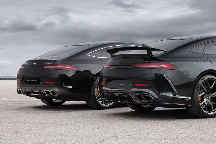 Mercedes AMG GT 4 Tuerer Coupe Inferno Topcar X 290 Tuning 4 Mercedes AMG GT 4 Türer Coupé Inferno von Topcar!